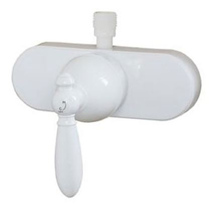Picture of American Brass  White Shower Valve U-YSL53VBWLVR-E 71-5704