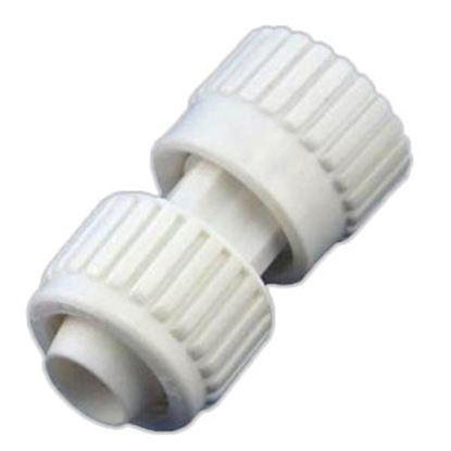 """Picture of Flair-It  3/4"""" PEX x 3/4"""" FPT Swivel End Nut White Plastic Fresh Water Straight Fittin 16849 72-0781"""
