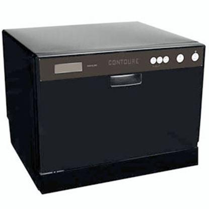"Picture of Contoure  17-1/4""H Black Countertop Dishwasher RV-D2250B 72-1394"