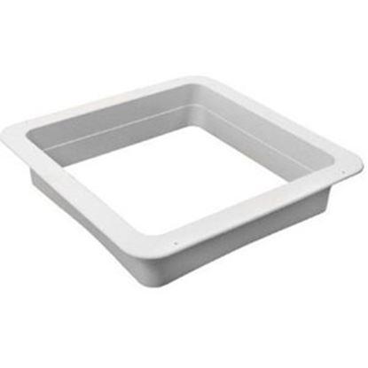 "Picture of Ventline  Birch White 3-1/8"" Deep for 14""x14"" Opening Radius Roof Vent Garnish VA0445-27 91-2914"