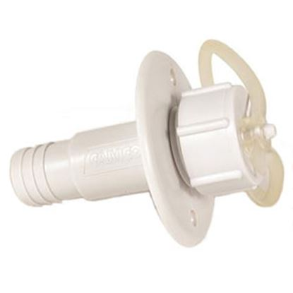 Picture of Camco  ABS Plastic w/ UV Stabilizers Waste Water Drain Flange 37271 94-0689