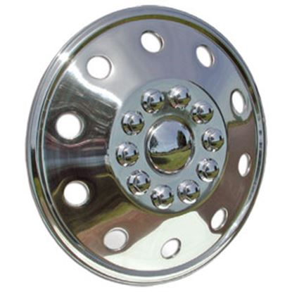 """Picture of Wheel Masters  Single 16-1/2"""" 8-Lug Wheel Cover  97-0259"""